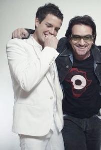 Bono and Brandon